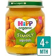 Hipp Organique 125G Simplement Courge - Paquet de 4