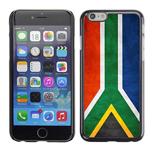 Graphic4You Vintage Uralt Flagge Von Südafrika South Africa Design Harte Hülle Case Tasche Schutzhülle für Apple iPhone 6 / 6S Südafrika South Africa