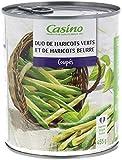 CASINO Haricots Verts/Haricots Beurre Coupés