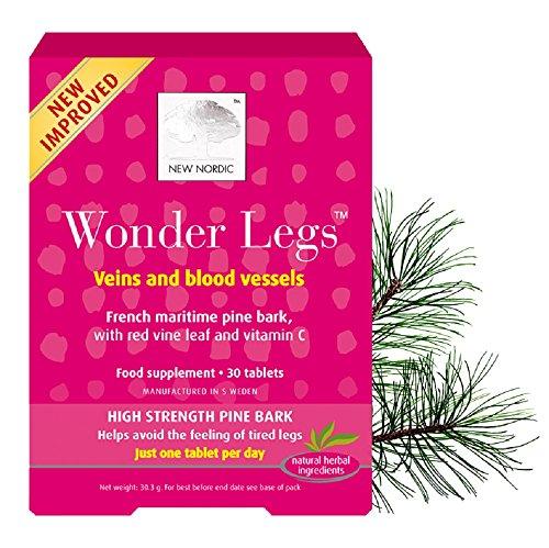 New Nordic Wonder Legs – 60 Tablets (2 Packs of 30 Tablets)