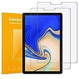 EasyAcc 2 Stücke Samsung Galaxy Tab S4 10.5 Schutzfolie Glas Folie Panzerfolie for Samsung Galaxy Tab S4 10.5 SM-T380/T385 Klar Anti-Kratz Displayfolie - 9H Hardness aus gehärtetem Glas