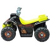 Homcom® Kinderauto Kinderwagen Elektroauto Kinderfahrzeug Kindermotorrad Quad Elektroquad Kinderquad Elektromotorrad (Elektroquad/gelb-schwarz) - 2