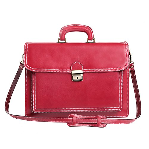 Porte-documents en cuir italien, Cartel, Homme et Femme Business Bag Made in Italy 39x30x18 cm