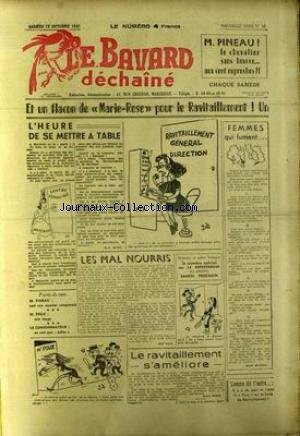 BAVARD DECHAINE (LE) [No 30] du 13/10/1945 - S. TICK - R.A. MICO - M. PINEAU - M. POUX - GUY BALL - H. RIGAL - MAX MICHEL.