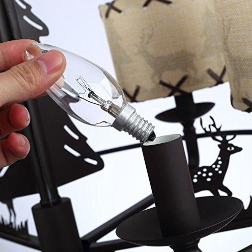 HOME American Style Rural Kronleuchter Junge Mädchen Kinderzimmer Schlafzimmer Lampen Europa Und Die Vereinigten Staaten Kunst Licht - 7