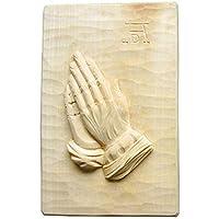 CleanPrince AD Albrecht Dürer Betende Hände, 22x15 cm, hell, handgeschnitzt, aus Linde, Holzschnitzerei aus Thüringen... preisvergleich bei billige-tabletten.eu