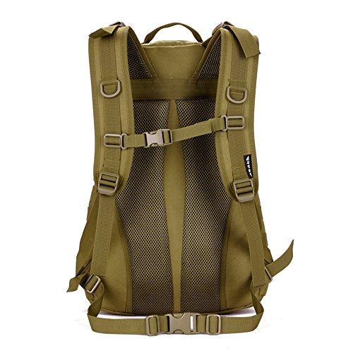 cinmaul Tactical Tagesrucksack Military Rucksack Gear MOLLE Student Schule Sport Tasche Assault Pack Rucksack für Camping Trekking Reise schwarz