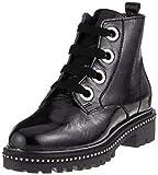 Marco Tozzi Premio Damen 25126-31 Combat Boots, Schwarz (Black Patent 018), 37 EU