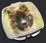Schöne Akita Hund Make-up Taschenspiegel Weihnachtsgeschenk