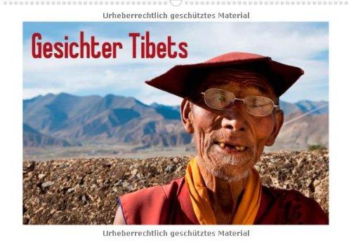 Gesichter Tibets (Wandkalender 2013 DIN A2 quer): Leben im Himalaya Monatskalender, 14 Seiten (CALVENDO Menschen)