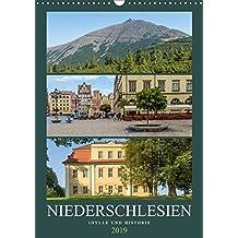 NIEDERSCHLESIEN Idylle und Historie (Wandkalender 2019 DIN A3 hoch): Sommerliche Impressionen (Monatskalender, 14 Seiten ) (CALVENDO Orte)