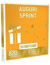 SMARTBOX - Confanetto Regalo - AUGURI SPRINT - 820 attività a scelta tra pause enogastronimiche, wellness o sportive