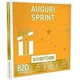 smartbox - Cofanetto Regalo - Auguri Sprint - 820 attività a Scelta tra Pause enogastronimiche, Wellness o Sportive