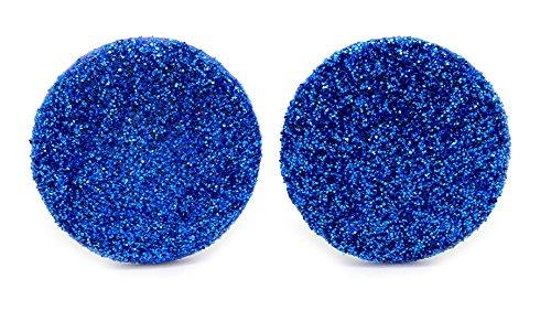 bluebubble-disco-nights-20-mm-blu-elettrico-glitter-orecchini-con-confezione-regalo