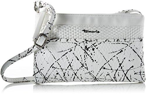 Tamaris 2143171, Borsa a tracolla Donna, taglia unica Bianco (white Comb)