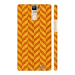 Enthopia Designer Hardshell Case Red Leaf Back Cover for Oppo R7 Plus