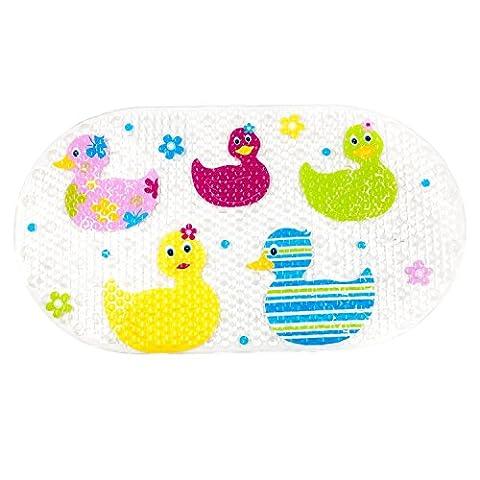 Non-Slip Bathroom or Tub Mat Bathmat for Babies and Kids