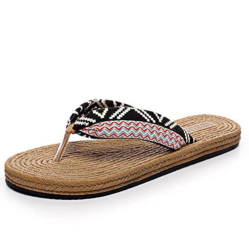 pengweiPantofole piane estive Beach scarpe sandali donna 1