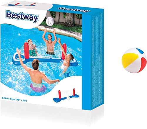 Bavaria Home Style Collection Pool Volleyball - Wasserball - Volleyball Set Netz + Ball