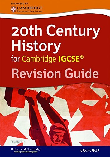 20th Century History for Cambridge IGCSE®: Revision Guide (Igcse Revision Guides) by Ennion, Ray (January 22, 2015) Paperback