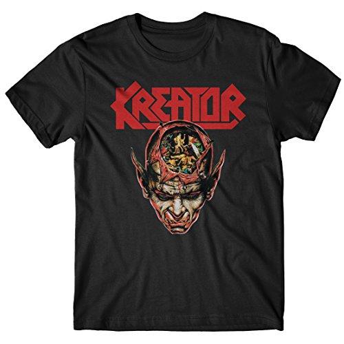 T-shirt Uomo Kreator - Coma of Souls - Maglietta 100% cotone LaMAGLIERIA,XL, Nero