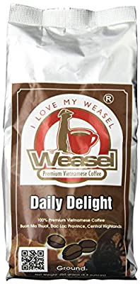 Daily Delight Vietnamese Ground Coffee from Weasel Premium Vietnamese Coffees
