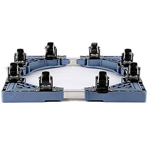 Multifunktions-Waschmaschine Basis Länge Breite Einstellbar 4 Räder 8 Räder Für Wäschetrockner, Kühlschränke Und Gefrierschränke (Farbe : 8 wheels) -