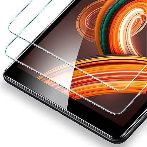 ESR 2 X Panzerglas Schutzfolie für Samsung Galaxy Tab A 10 5 SM-T590/T595  Tempered Glas Folie Displayschutzfolie Screen Protector für Samsung Galaxy