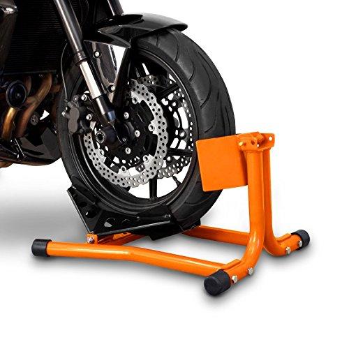 Constands Easy Classic - Motorradwippe Yamaha XVZ 1300 A Royal Star für Anhänger Transportständer Montageständer Vorderrad Orange - Für Räder Roller Roller Royal