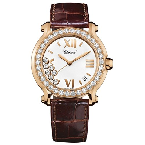 chopard-womens-happy-sport-36mm-brown-leather-band-steel-case-quartz-white-dial-analog-watch-277473-
