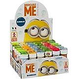 ColorBaby - Caja pomperos Minions y tapa con juego con 36 unidades - 60 ml (24260)