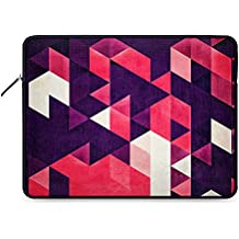 DailyObjects cyrysse lydy Zippered Sleeve Cover for 14 Inch Laptop/MacBook Color- Multicolor