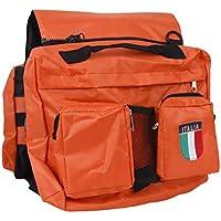 Cani Da Bisaccia Da Compagnia Zaino Trekking Viaggi Imbracatura Pacchetto Arancione E Verde - Arancione Saddle