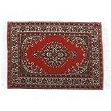 SODIAL(R) casa de munecas miniatura alfombra alfombra Interior modelado---23.5 x 14,8 cm