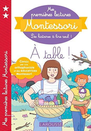 Mes premières lectures Montessori - A table PDF Books
