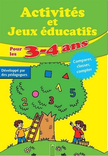 Activités et jeux éducatifs pour les 3-4 ans