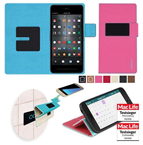 reboon Hülle für Smartisan T2 Tasche Cover Case Bumper | Pink | Testsieger