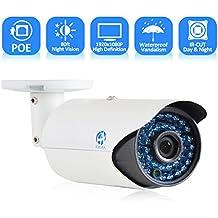 JOOAN 703ERB-T-P-3.6 1080P 2.0 Megapixel IP Camera POE sicurezza CCTV telecamera di sorveglianza pallottola Video controllo esterni, impermeabile visione notturna di