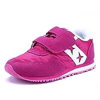 Nota:   Le scarpe sono un po 'piccole. Se i piedi dei tuoi bambini sono larghi / grassi, ti consigliamo di scegliere una taglia più grande.  Vi è una scarpa adatta per ogni bambino. Li abbiamo tutti.  Le scarpe sono una buona misura c...