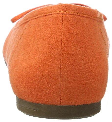 Tamaris 22150, Ballerines Femme Orange (ORANGE 606)