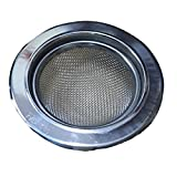 4 Pcs Kitchen Sink Waste Filter Strainer Stainless SteelMetal Cup-Avoid Clogging + Teflon Tape