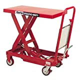 CLARKE HYDRAULIC TABLE LIFT 300Kg Foot Operated