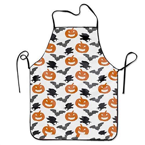ryudryu Adjustable Kitchen Apron£¬Halloween Cool Men & Women Apron for Cooking, Baking, Crafting, Gardening, BBQ