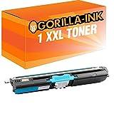 Gorilla-Ink® 1 Toner XXL kompatibel zu Konica Minolta 1600 Cyan