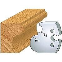 234: Juego de 2 barras de empalme de corniche ht 50 mm, para herramientas entr'plot eje 24 mm