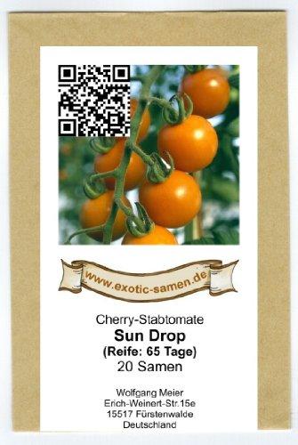 Orange Cherry-Tomate - Sun Drop - 20 Samen - Orange Cherry-tomaten