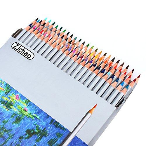 Matite Colorate per Adulti Libri da Colorare 72 Colorate Eco Crayons Matita Penne Stilnovo pastelli colorati in astuccio 24 colori