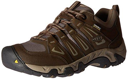 Keen Schuhe Für Männer (Keen Herren Oakridge WP Trekking-& Wanderhalbschuhe, Braun (Cascade/Brindle), 46 EU)