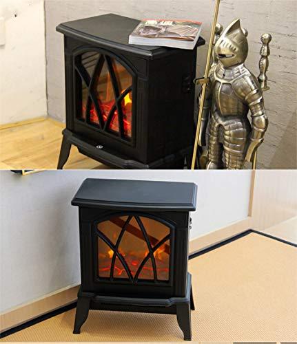 Fayoo-Electric-Fireplace-Chimenea-Elctrica-Autosoportada-Calentador-Estufa-De-Lea-Registro-Quemador-Efecto-Llama-con-Control-De-Termostato