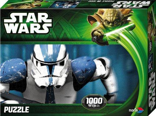 Noris Spiele 606031147 - Star Wars Storm Trooper Puzzle Episode 2 und 3, 1000 Teile